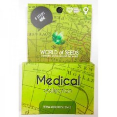 Medical Collection feminized, World of Seeds